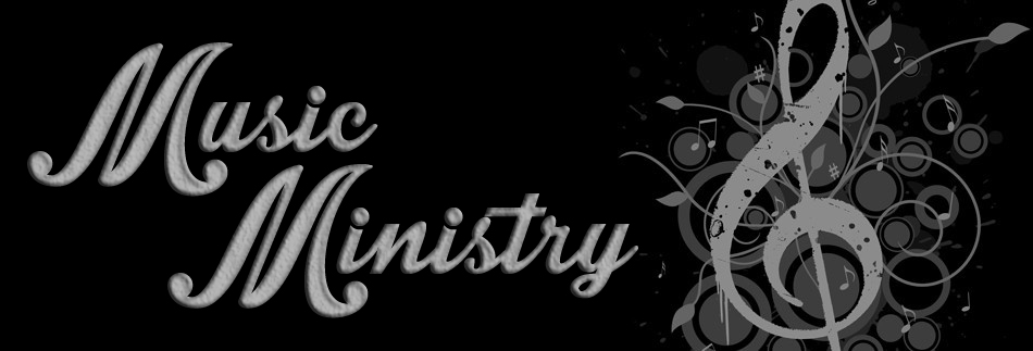 Music Ministry banner copy